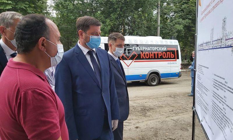 В рамках реализации проекта «Губернаторский контроль» город Шахты посетил замгубернатора Ростовской области Виктор Вовк