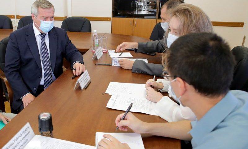 Василий Голубев подал в избирком документы на участие в выборах  главы региона