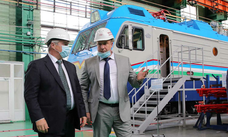 С начала года Новочеркасский электровозостроительный завод увеличил объемы производства на 47%