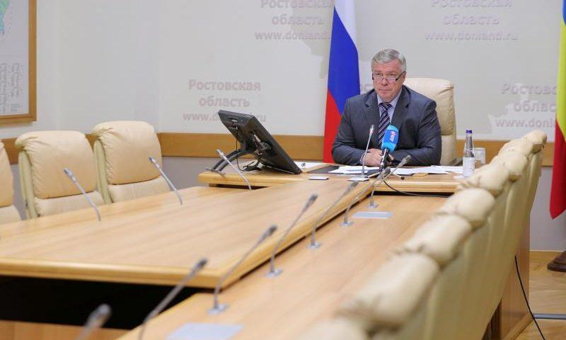 Донской губернатор призвал строго соблюдать противоэпидемические меры