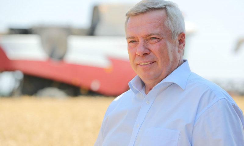 В Ростовской области собрано 10 миллионов тонн зерна