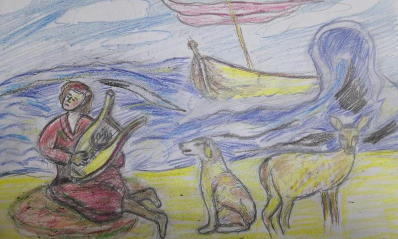 Творчество Александра Антипова против COVID-19