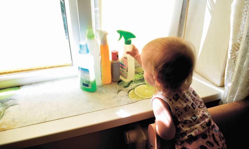 Острые химические отравления у детей лидируют среди несчастных случаев