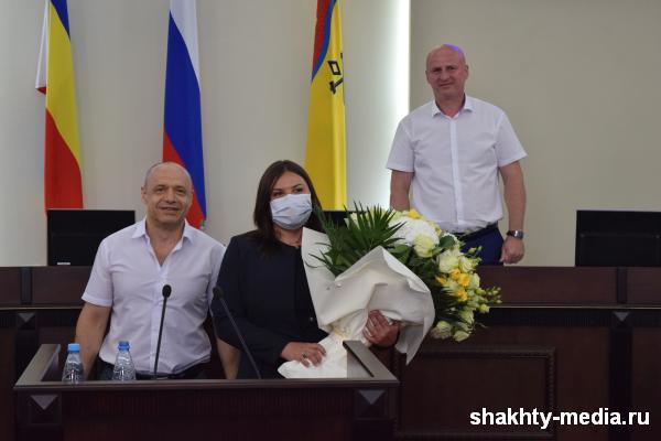 Городская дума г.Шахты шестого созыва подвела итоги работы за пять лет