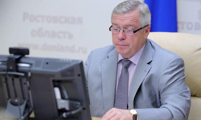 Во время интерактивного приема губернатор Ростовской области рассмотрел обращения семи дончан