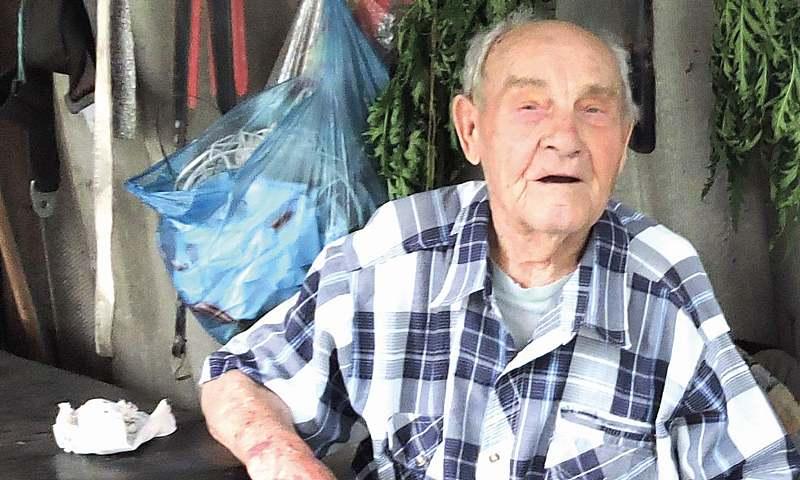 Ветеран войны Семен Кащенко был свидетелем расстрела шахтинцев на шахте Красина