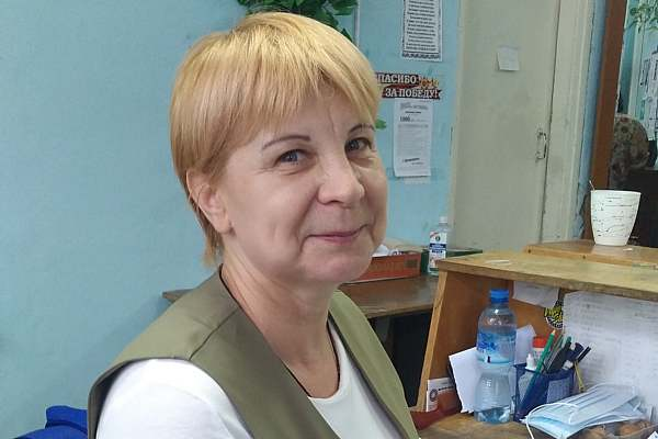 Наталья ГЕРАСИМОВА, почтальон 1 класса: