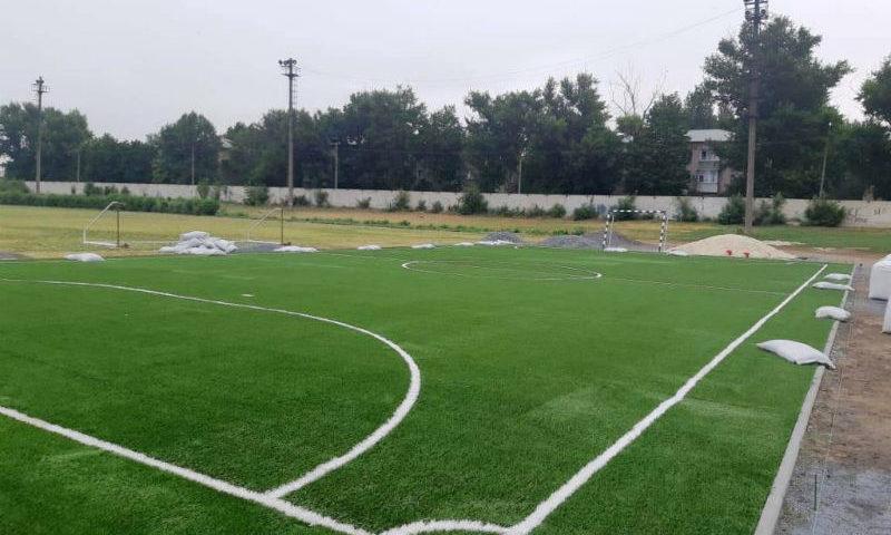 В августе при спортивной школе олимпийского резерва № 1 в Новочеркасске появится поле для мини-футбола
