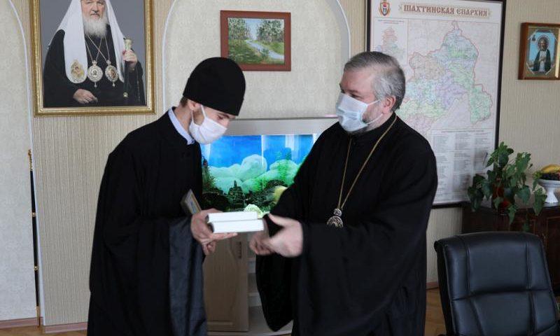 Епископ Симон поздравил выпускников Донской духовной семинарии