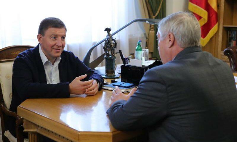 Донской регион посетил зампред Совета Федерации Андрей Турчак
