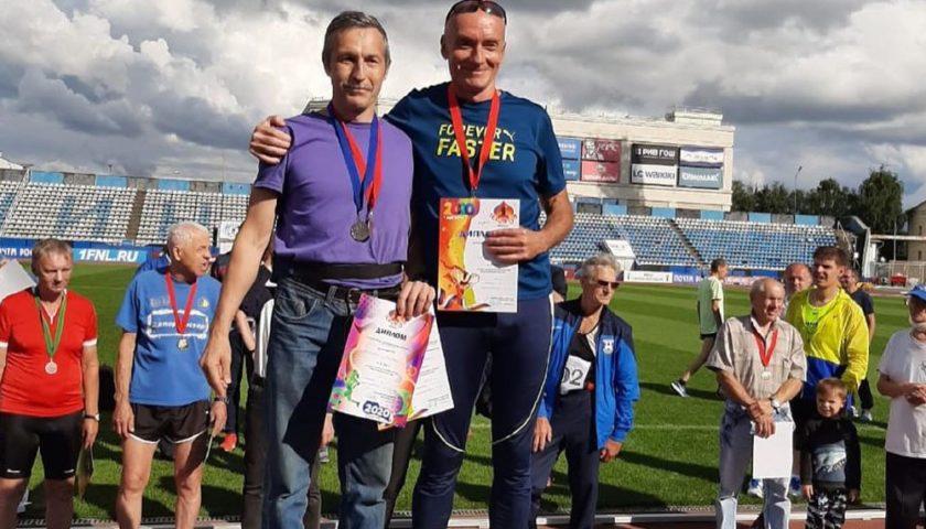 Шахтинец Константин Осадченко занял первое место в Кубке России по легкой атлетике среди ветеранов