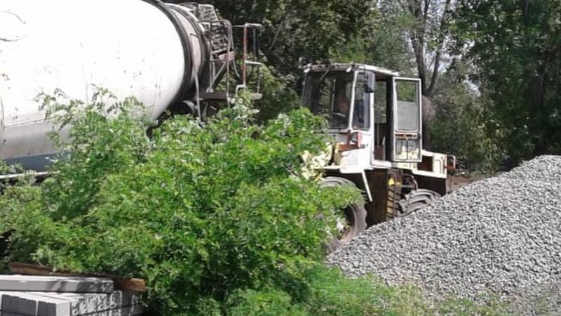 В Шахтах продолжается реконструкция общественных территорий