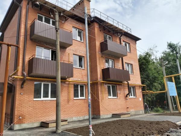 Введен в эксплуатацию многоквартирный жилой дом по улице  Достоевского, 74 в  г.Шахты