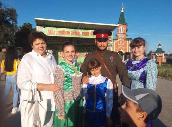 Шахтинцы посмотрели казачий фестиваль