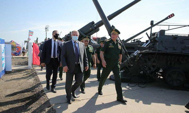В Неклиновском районе Ростовской области стартовал военно-технический форум «Армия-2020»