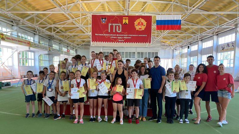 В честь Дня физкультурника спортсмены боролись за Кубок ГТО