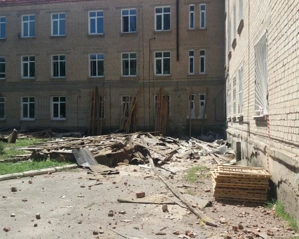 Как ведется капитальный ремонт Детской городской больницы г.Шахты