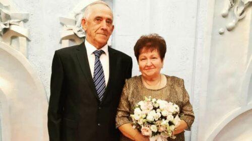 Шахтинцы Николай и Людмила Кияненко отметили золотую свадьбу