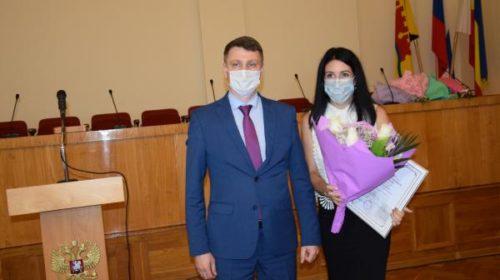 Награждены лучшие физкультурники г.Шахты (много фото и видео церемонии награждения)