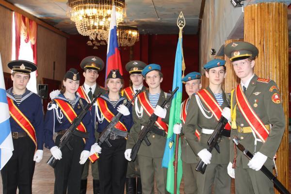 Ведется набор учеников в сводный городской караул Поста №1 г.Шахты