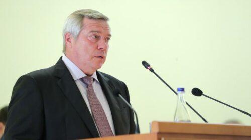 Василий Голубев одержал победу на выборах губернатора Ростовской области