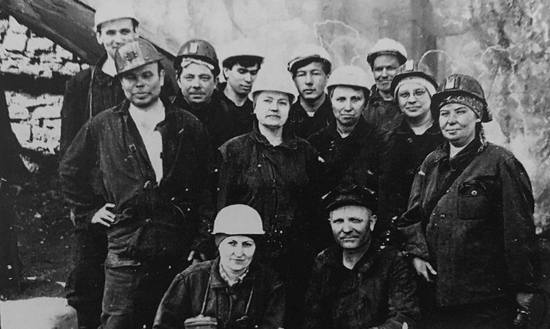 Женщины-горнячки добывали для страны уголь во время войны