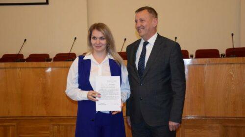 Шахтинцам вручены Благодарственные письма губернатора Ростовской области (много фото с церемонии награждения)
