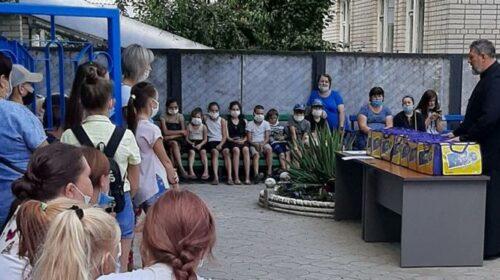 В Шахтинской епархии прошла благотворительная акция «Помоги собраться в школу»