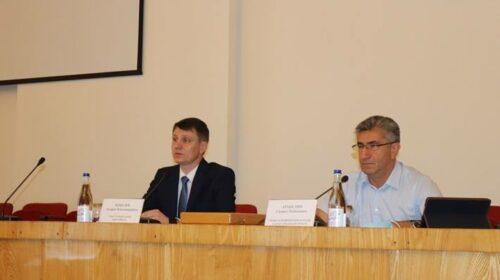 Министр по физической культуре и спорту Ростовской области  встретился со спортивной общественностью г. Шахты