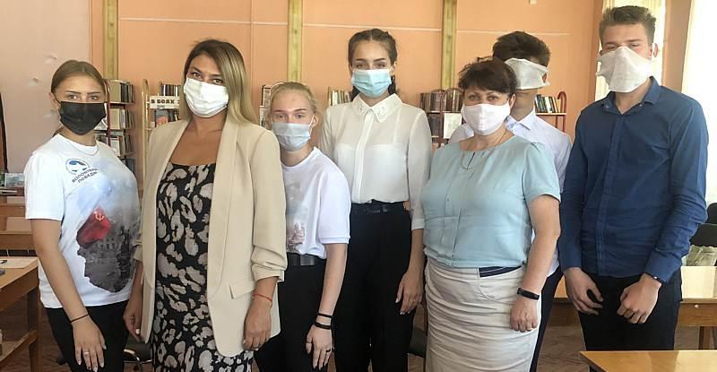 Шахтинцы приняли участие в международной акции «Диктант Победы»