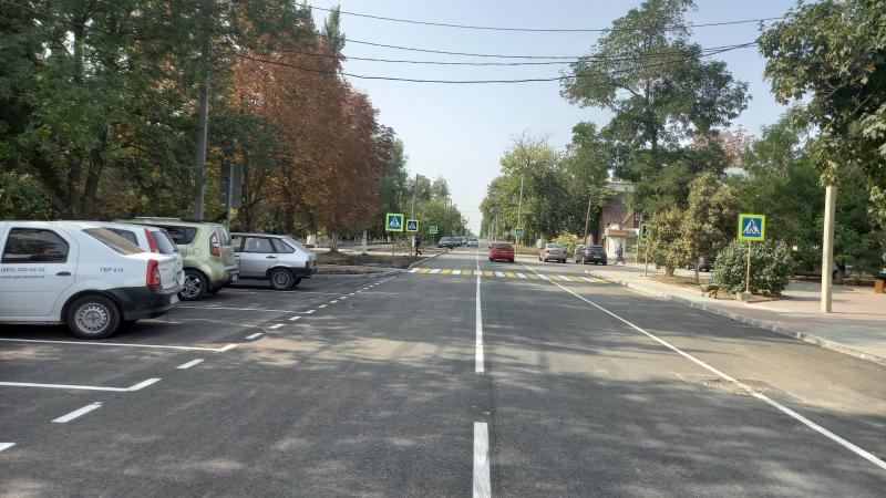 Завершилась реконструкция улицы Шевченко