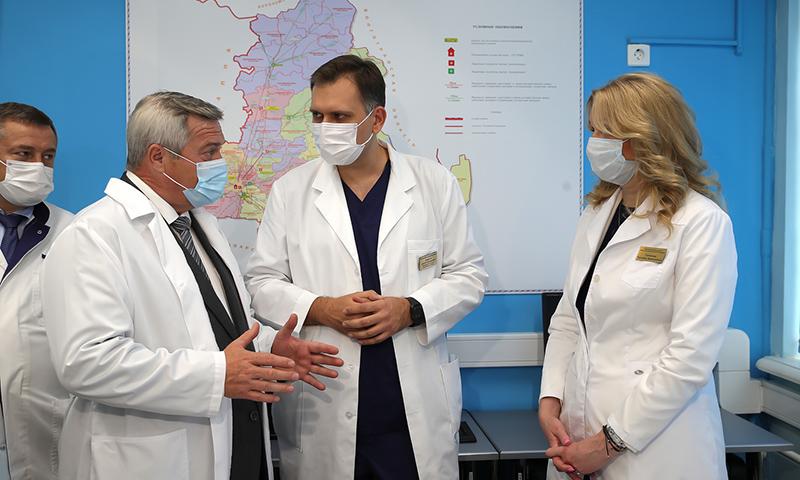 Татьяна Голикова поблагодарила донских медиков за вклад в борьбу с COVID-19