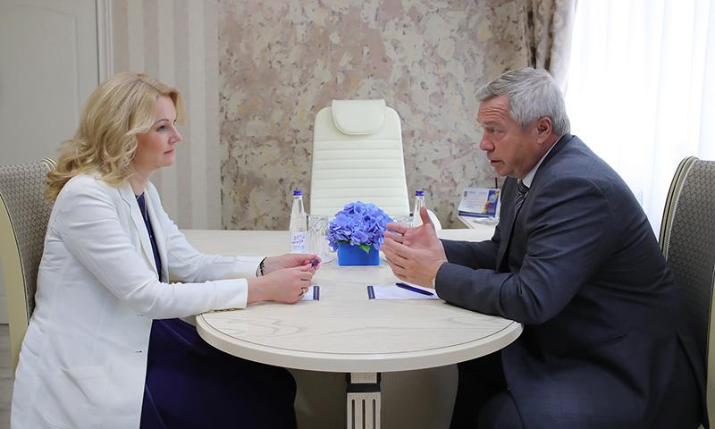 Татьяна Голикова посетила Ростовскую областную больницу