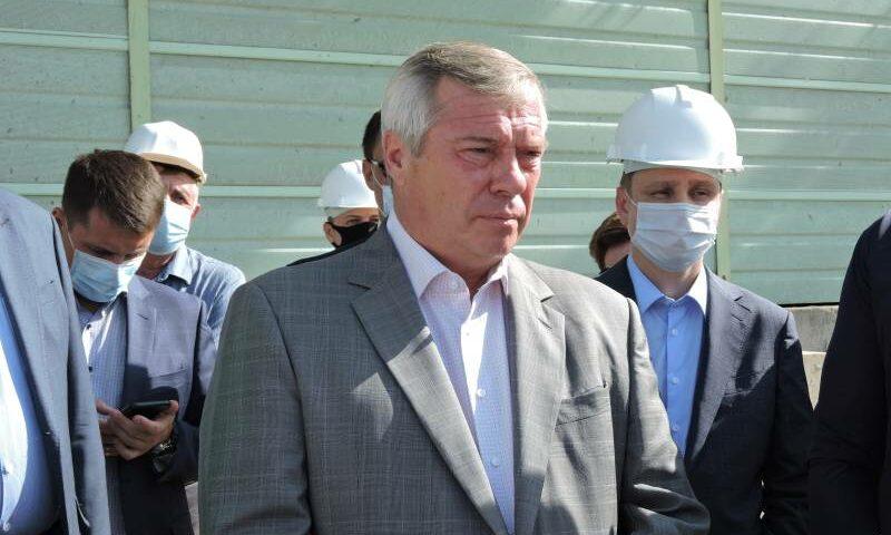 Город Шахты с рабочим визитом посетил донской губернатор Василий Голубев
