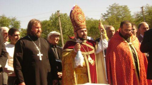 10 лет назад в г.Шахты был заложен фундамент армянской церкви Сурб-Саркис (ВИДЕО)