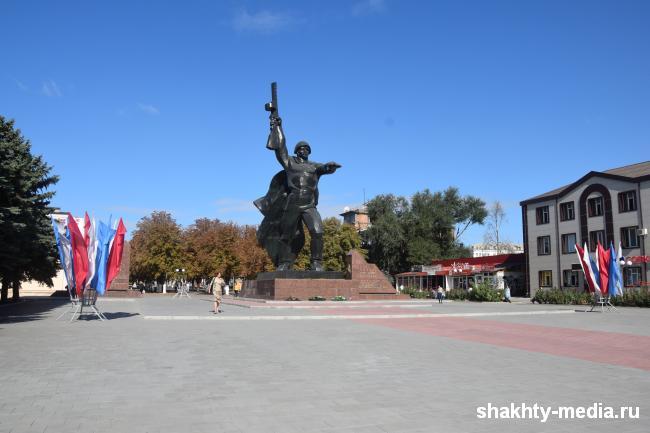 На площади 40-летия Победы г.Шахты будет организовано дежурство юнармейцев