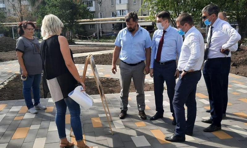 Министр ЖКХ Ростовской области посетил город Шахты