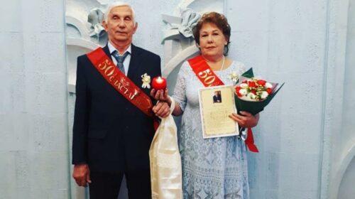 Шахтинская семья Коршуновых отметила золотой юбилей семейной жизни