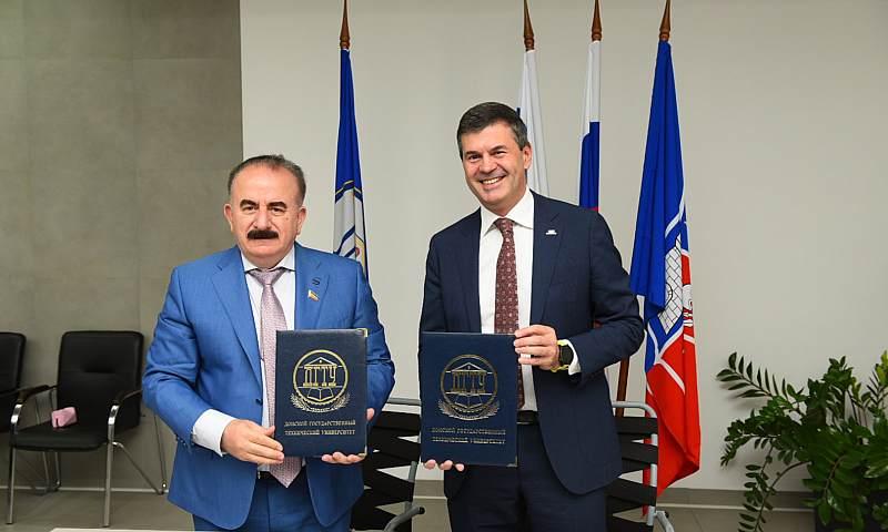 ДГТУ и АНО «Россия – страна возможностей» подписали соглашение о сотрудничестве