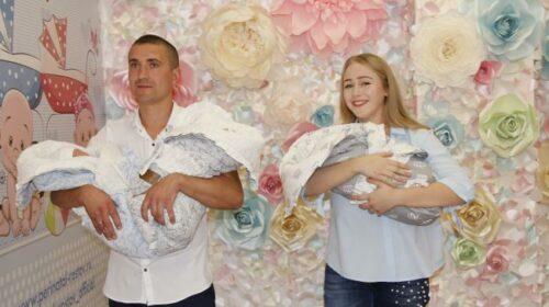 В семье Елизаветы и Александра Манжилеевых из г.Шахты родилась тройня