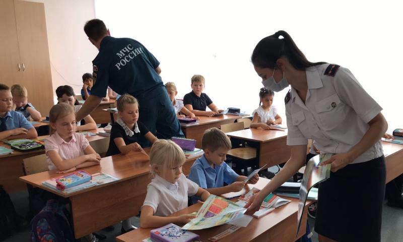 Шахтинских школьников научили вести себя в экстремальных ситуациях