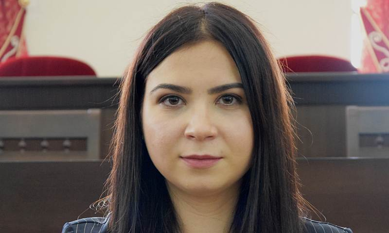 Виолетта Богданова избрана председателем Молодежного парламента восьмого созыва