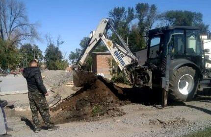 В г.Шахты ведутся работы по обеспечению водоснабжением парка «70-летия Победы»