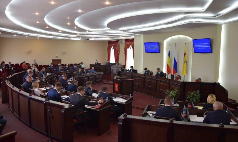 В Шахтах избраны председатели комитетов городской думы