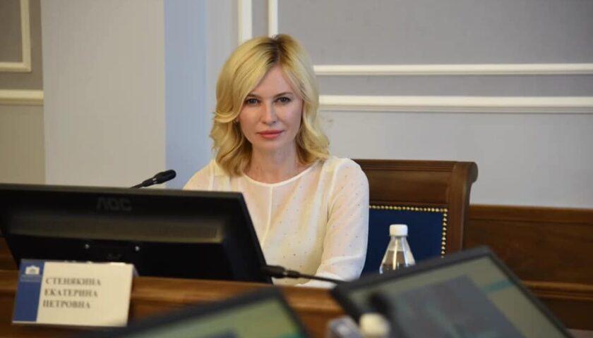 Екатерина Стенякина стала победителем конкурса «Лидеры России. Политика»