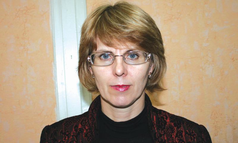 Ирина Капшук вновь избрана председателем Шахтинской организации Всероссийского общества слепых