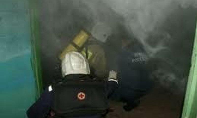 В Шахтах при ликвидации пожара обнаружен труп мужчины