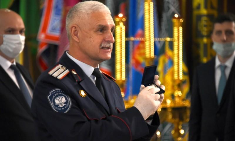 Старейшим казакам Войска Донского переданы нагрудные знаки ФАДН «За отличие в службе российского казачества»