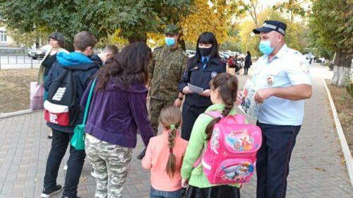 Юным участникам дорожного движения напомнили о ПДД