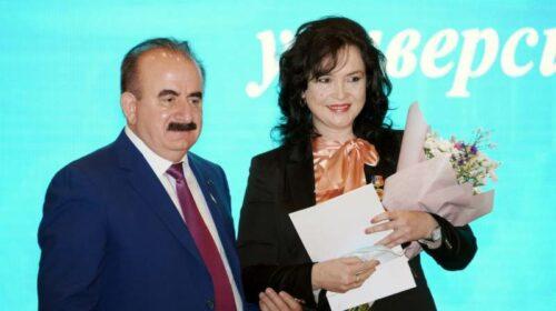 Профессору ДГТУ в г.Шахты Ирине Черуновой  присвоено звание «Почетный работник сферы образования РФ»